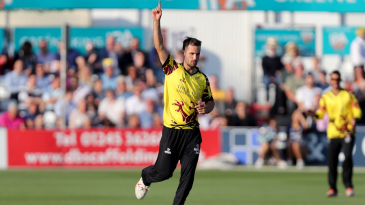 Lewis Gregory hails a Somerset breakthrough