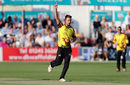 Lewis Gregory hails a Somerset breakthrough, Essex v Somerset, NatWest Blast, South Group, Chelmsford, July 13, 2017