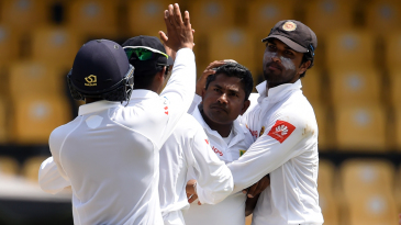 Rangana Herath dismissed both Zimbabwe openers