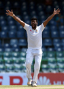 Lahiru Kumara dismissed the debutant Tarisai Musakanda, Sri Lanka v Zimbabwe, Only Test, Colombo, 1st day, July 14, 2017