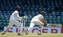 Craig Ervine brings out the paddle sweep, Sri Lanka v Zimbabwe, Only Test, Colombo, 1st day, July 14, 2017