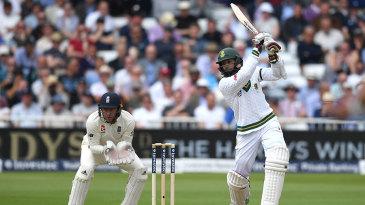 Hashim Amla played some eye-catching strokes
