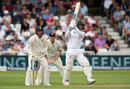 Quinton de Kock went to a 59-ball fifty, England v South Africa, 2nd Investec Test, Trent Bridge, 1st day, July 14, 2017