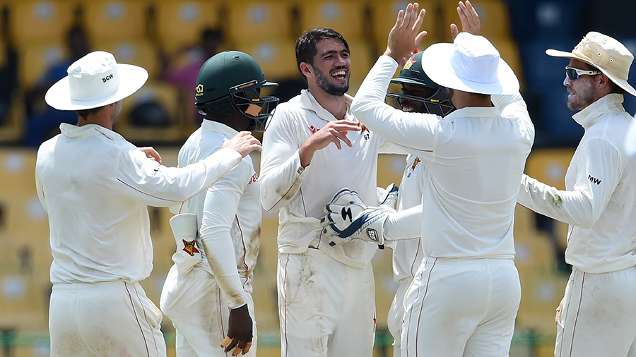 One-off Test: Cremer heroics give Zimbabwe edge over Sri Lanka