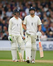 Alastair Cook fell for 3 after a review for caught-behind, England v South Africa, 2nd Investec Test, Trent Bridge, 2nd day, July 15, 2017