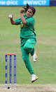 Kainat Imtiaz sends down a delivery, Pakistan v Sri Lanka, Women's World Cup, Leicester, July 15, 2017