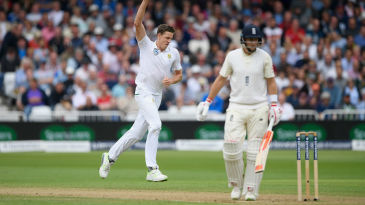Joe Root was caught behind off Morne Morkel for 78