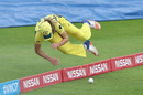 Ellyse Perry dives near the boundary, Australia v South Africa, Women's World Cup, Taunton, July 15, 2017
