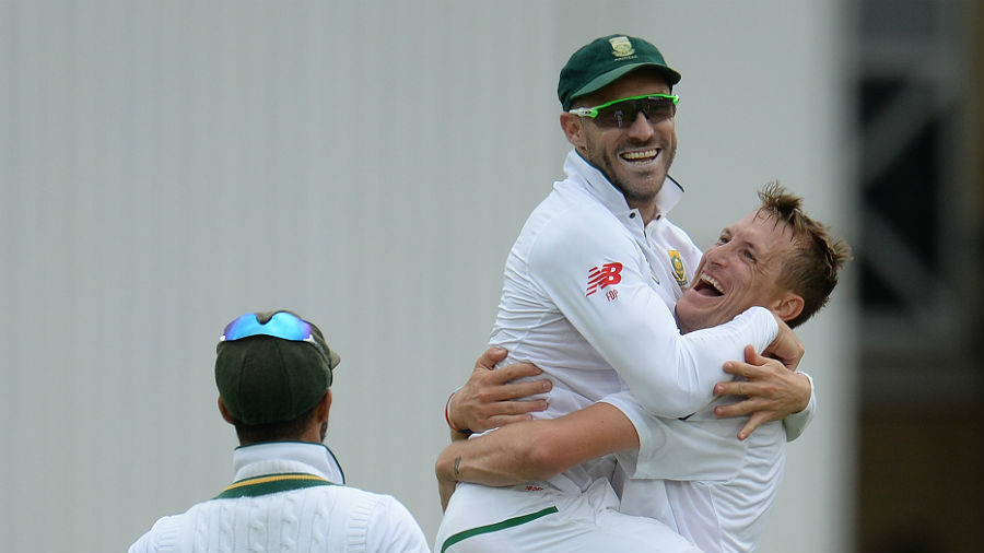 Faf du Plessis had Moeen Ali caught at point off Chris Morris
