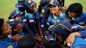 Sri Lanka were a joyful lot by the end of the game