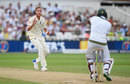Howzat? Stuart Broad barely appealed when Hashim Amla nicked behind and survived, England v South Africa, 2nd Investec Test, Trent Bridge, 3rd day, July 16, 2017