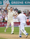 James Anderson had Quinton de Kock caught behind, England v South Africa, 2nd Investec Test, Trent Bridge, 3rd day, July 16, 2017