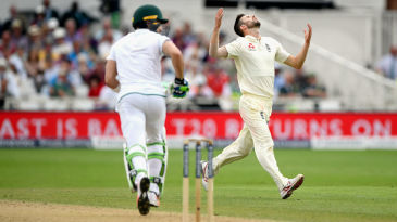 Mark Wood endured a frustrating day