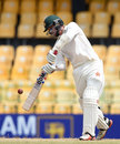Malcolm Waller shapes to swipe at one on the up, Sri Lanka v Zimbabwe, only Test, 4th day, Colombo, July 17, 2017