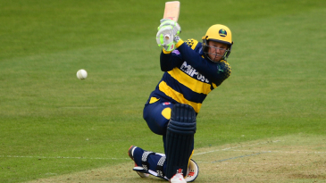 Colin Ingram on the attack