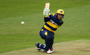 Colin Ingram on the attack, Royal London Cup, Glamorgan v Surrey, April 30, 2017