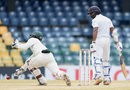 Niroshan Dickwella was put down by Regis Chakabva on 63, Sri Lanka v Zimbabwe, only Test, 5th day, Colombo, July 18, 2017