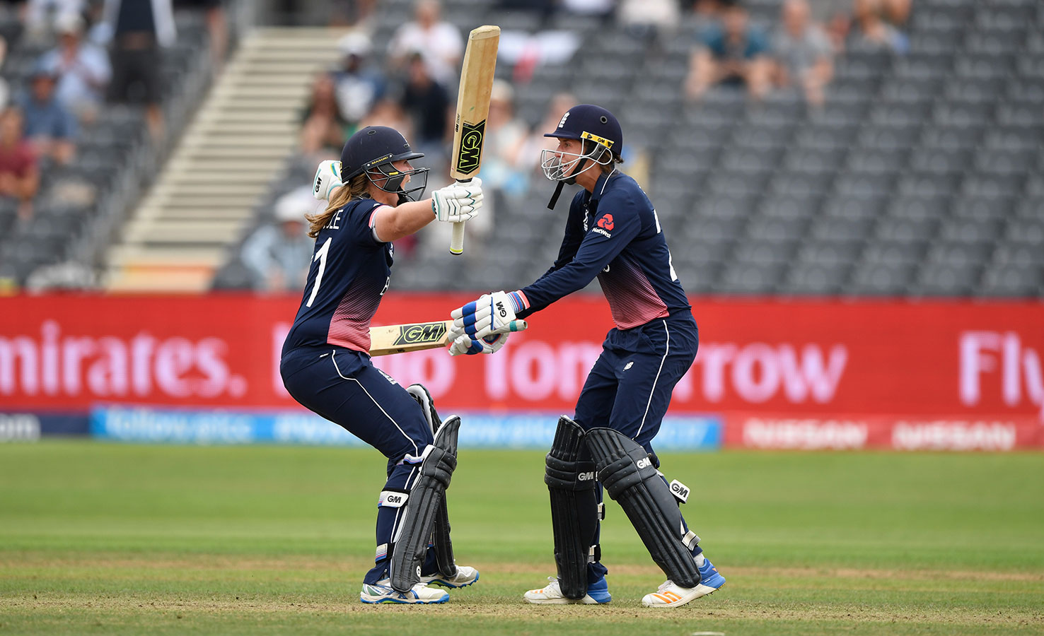 Anya Shrubsole and Jenny Gunn carried England into the final in a tense last-over finish at Bristol
