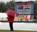 Persistent rain delayed the second semi-final, Australia v India, Women's World Cup, semi-final, Derby, July 20, 2017