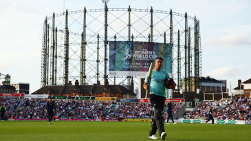 Kevin Pietersen is far from decommissioned - unlike The Oval gasometer