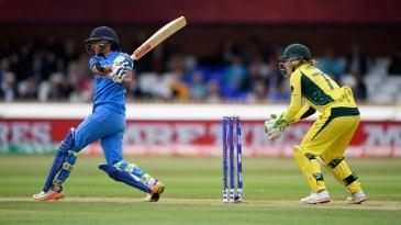 Harmanpreet Kaur brought up a fifty off 64 balls