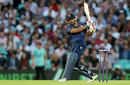 Ravi Bopara hits out during Essex's defeat, Surrey v Essex, NatWest Blast, South Group, Kia Oval, July 19, 2017