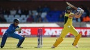Ellyse Perry cuts the ball with precision, Australia v India, Women's World Cup, semi-final, Derby, July 20, 2017