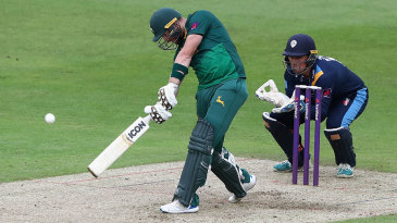 Riki Wessels hit 110 off 54 balls