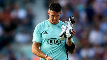 There was only disappointment second time around for Kevin Pietersen