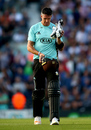 There was only disappointment second time around for Kevin Pietersen, Surrey v Middlesex, NatWest Blast, South Group, Kia Oval, July 21, 2017