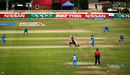 Jhulan Goswami takes a catch to dismiss Lea Tahuhu, India v New Zealand, Women's World Cup, Derby, July 15, 2017