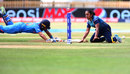 Mansi Joshi is run out by Chandima Gunaratne, India v Sri Lanka, Women's World Cup 2017, Derby, July 5, 2017