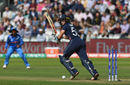 Lauren Winfield whips one through the leg side, England v India, Women's World Cup final 2017, Lord's, July 23, 2017