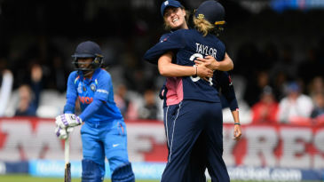England's reaction after Mithali Raj's run out tells you a story