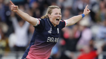 Anya Shrubsole's six-for secured the trophy