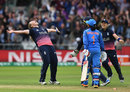 Anya Shrubsole takes the wicket to win the World Cup, England v India, Women's World Cup final, Lord's, July 23, 2017
