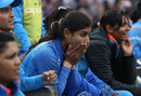 Mihtali Raj watched on helpless as India collapsed, England v India, Women's World Cup final, Lord's, July 23, 2017