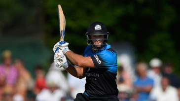 Ross Whiteley makes a last stand for Worcestershire