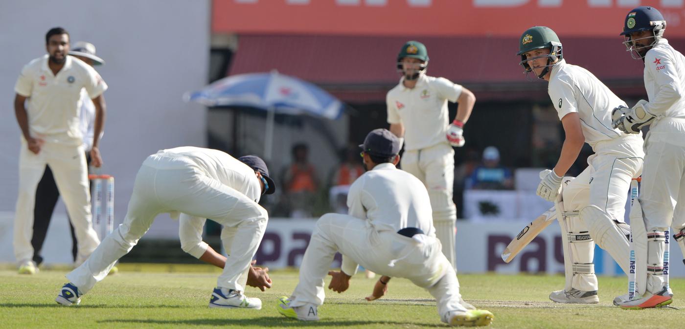 Action, not reaction: Krishnan captures the moment when Hazlewood edges to Vijay