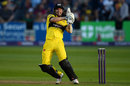 Michael Klinger lays into a pull shot, Gloucestershire v Glamorgan, NatWest T20 Blast, South Group, July 25, 2017