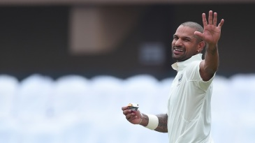 You can't stop me: Shikhar Dhawan smashed more than 100 runs in the post-lunch session