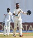 Cheteshwar Pujara brought up his 12th Test century, Sri Lanka v India, 1st Test, Galle, 1st day, July 26, 2017
