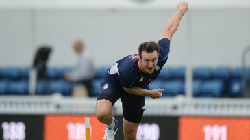 Toby Roland-Jones will make his Test debut at The Oval