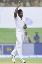 Nuwan Pradeep soaks in the reward for his discipline, Sri Lanka v India, 1st Test, Galle, 2nd day, July 27, 2017