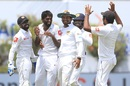 Nuwan Pradeep claimed his maiden five-wicket haul, Sri Lanka v India, 1st Test, Galle, 2nd day, July 27, 2017