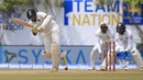 R Ashwin steps out and flicks through midwicket, Sri Lanka v India, 1st Test, Galle, 2nd day, July 27, 2017