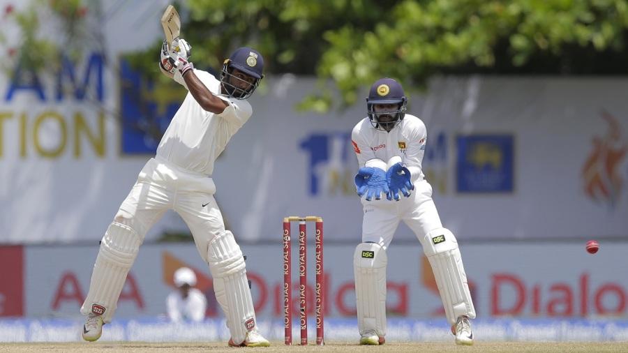 Abhinav Mukund profited from the cut shot
