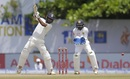Abhinav Mukund profited from the cut shot, Sri Lanka v India, 1st Test, Galle, 3rd day, July 28, 2017
