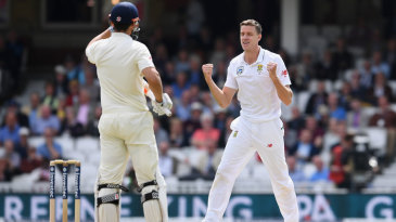 Morne Morkel removed Alastair Cook lbw despite a review
