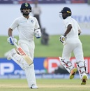 Virat Kohli and Abhinav Mukund stretched India's lead past 450, Sri Lanka v India, 1st Test, Galle, 3rd day, July 28, 2017